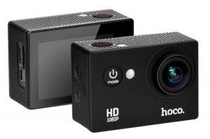 Водонепроницаемая Sports Action Camera HOCO D2 1080P black