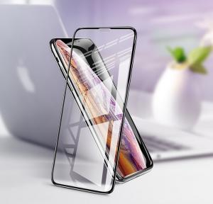 Защитное стекло HOCO iPhone XS Max Full screen 3D anti-shock soft edge tempered glass Black (G2)