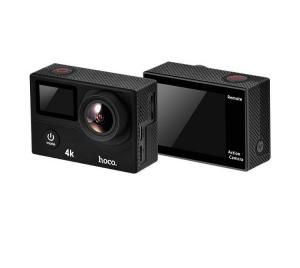 Водонепроницаемая Sports Action Camera HOCO D3 4K Ultra HD black